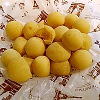 低脂健康:免油炸QQ地瓜丸子/烤箱版糯米红薯球