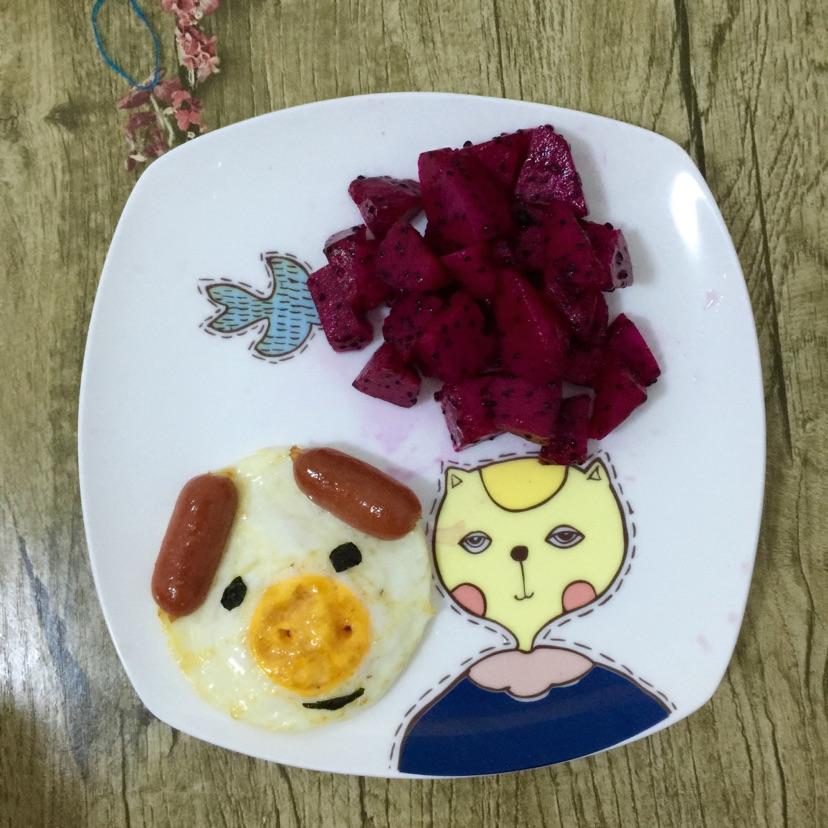 创意儿童早餐的做法图解10