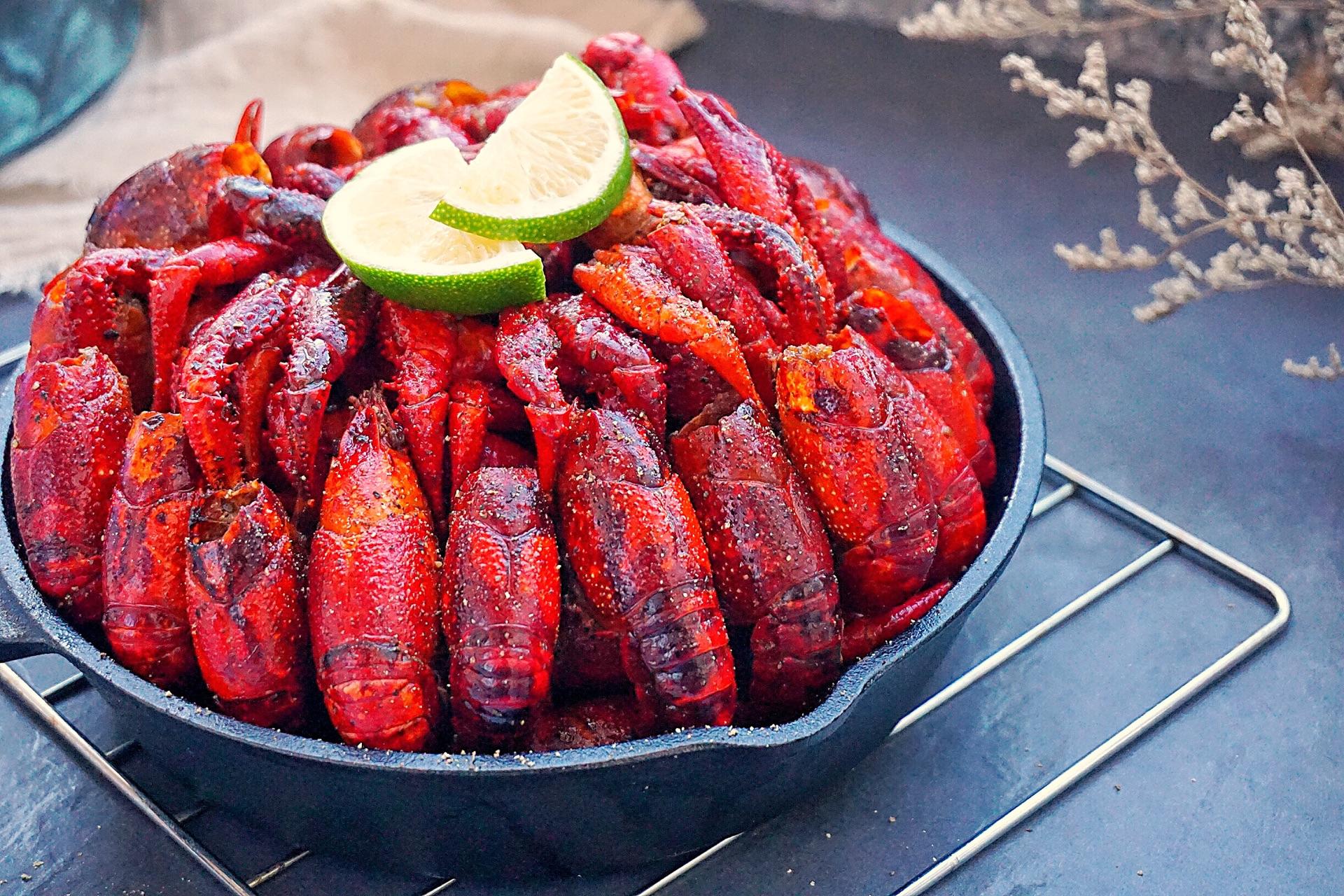 香烤小龙虾#虾的味道,油知道#的做法