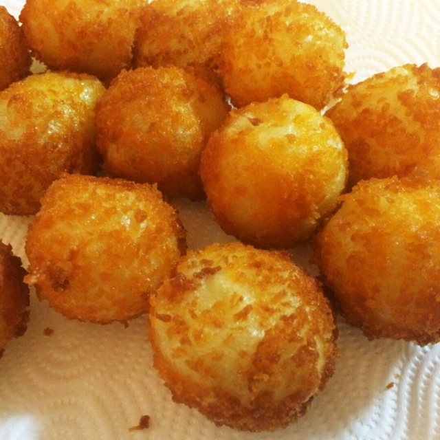 芝士土豆球的做法图解9