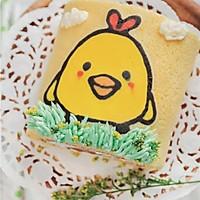 萌萌哒彩绘蛋糕卷