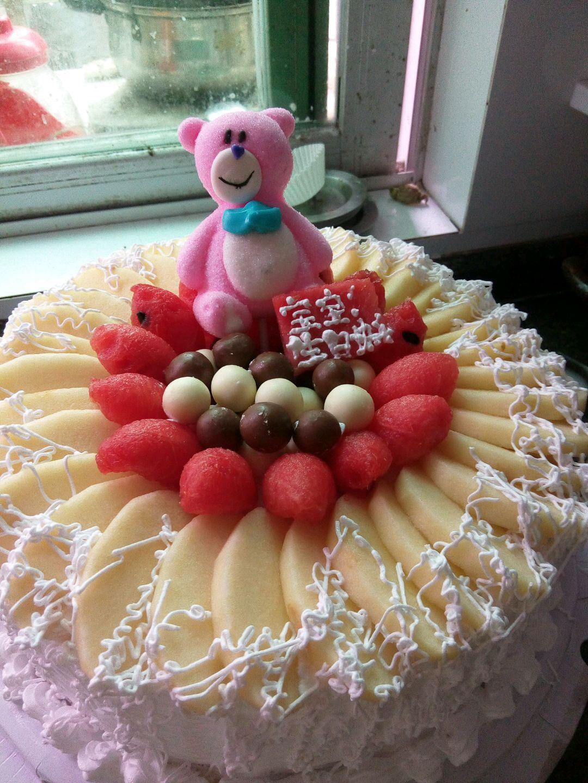 纯奶油蛋糕_淡奶油蛋糕