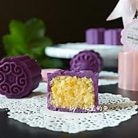 免烤紫薯椰蓉月饼