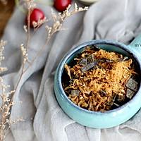 海苔芝麻肉松#柏翠辅食节-烘焙零食#