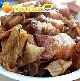 笋衣烧肉的做法