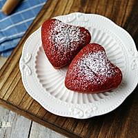 红丝绒小蛋糕#我的烘焙不将就#