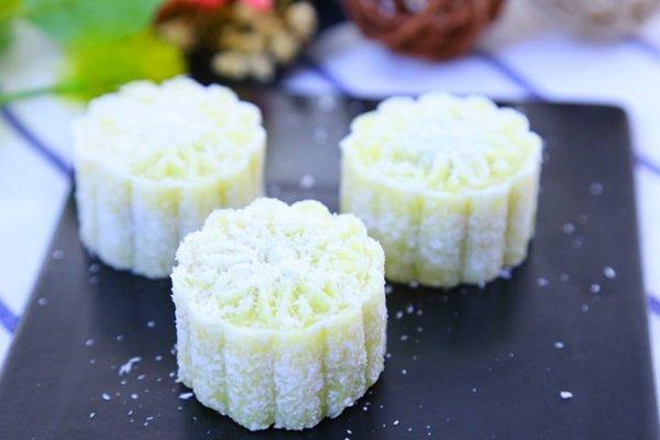 豆沙月饼  宝宝辅食食谱的做法