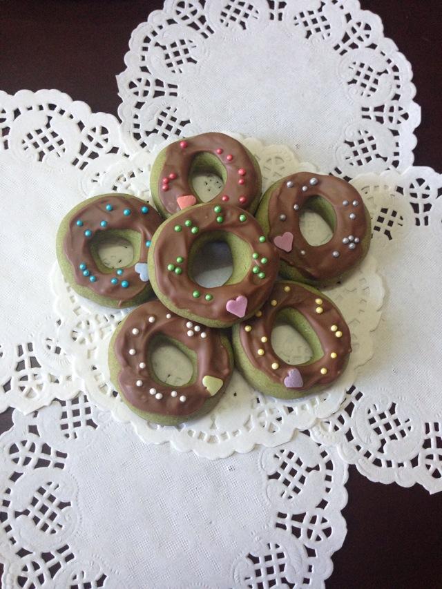 可爱哒甜甜圈饼干