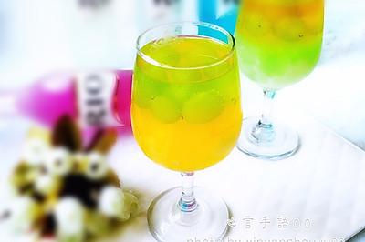 夏日遐思(双色鸡尾酒冰饮)