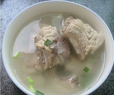 猪骨汤的做法