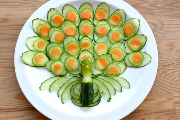蔬菜孔雀开屏