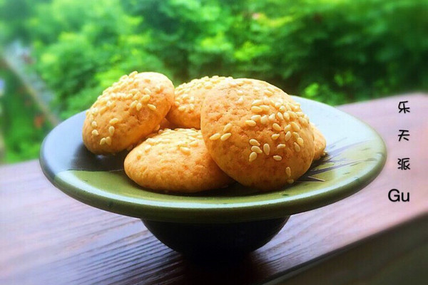 芝麻酥饼#每道菜都是一台食光机#的做法