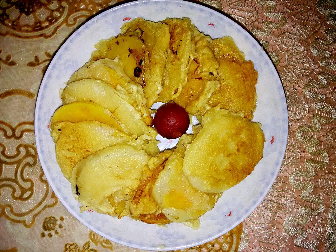 煎饼番薯的做法图解8