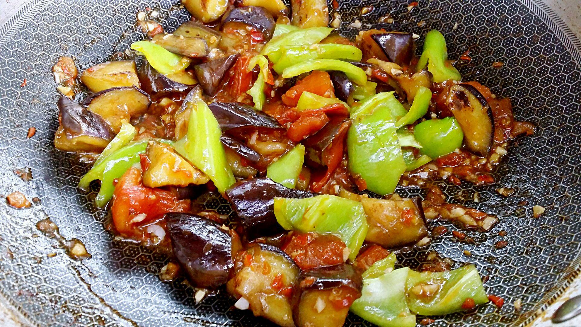 西辣茄子撒点蒜的做法图解20