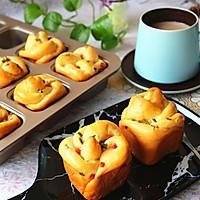 香肠沙拉玫瑰花面包#有颜值的实力派#的做法图解16