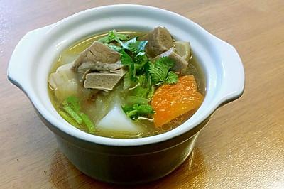 清炖羊肉汤--冬季暖身