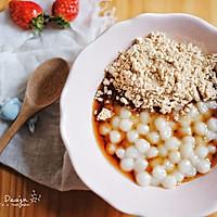 擂沙糖蜜小圆子#美的早安豆浆机#