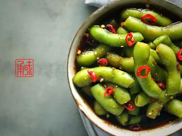 麻香酸辣毛豆,跟你的中国胃说一声,就等这道菜呢!