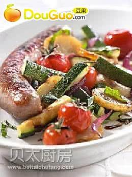 地中海式扒时蔬沙拉的做法