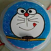 蓝胖子蛋糕