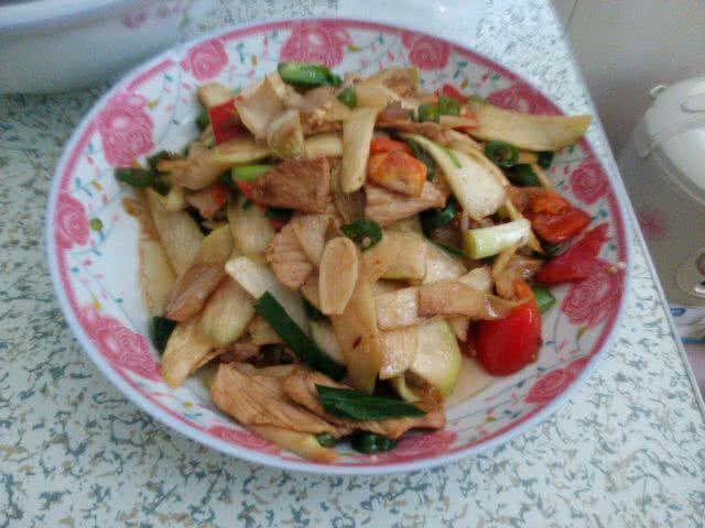 水笋炒肉的做法_【图解】水笋炒肉怎么做好吃_淡淡茶3