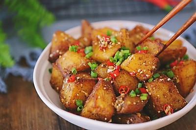 【锅巴土豆】逛夜市必点的人气小吃!