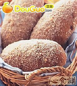坚果面包的做法