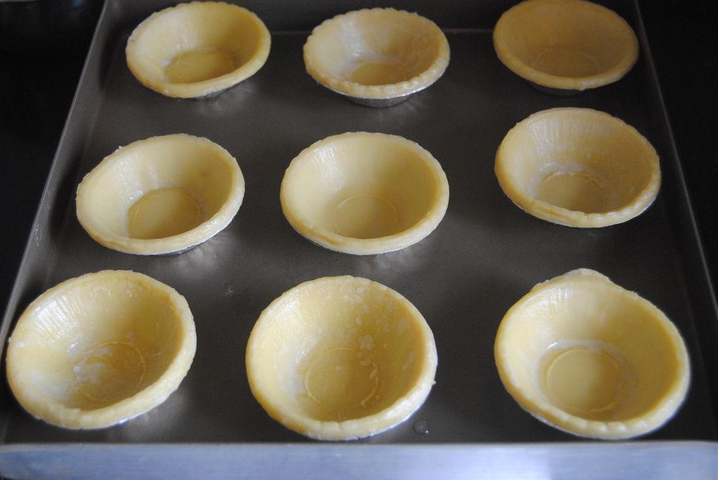 制作蛋挞的步骤