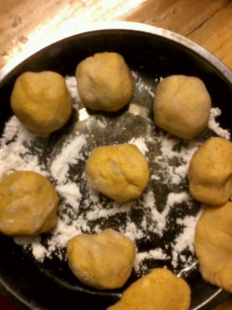自制南瓜饼的做法步骤