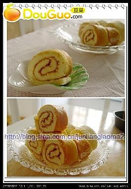 草莓蛋糕卷的做法