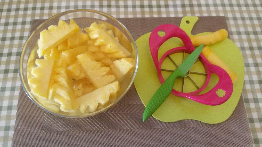 菠萝果酱的做法步骤