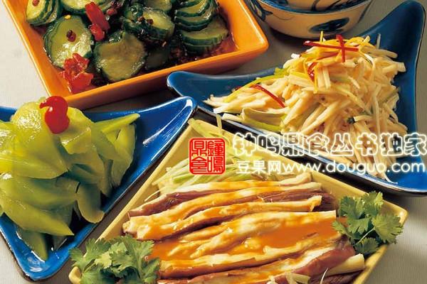 凉拌四小碟之麻醬茄子的做法