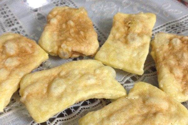 普通面粉微波炉黄油饼干的做法