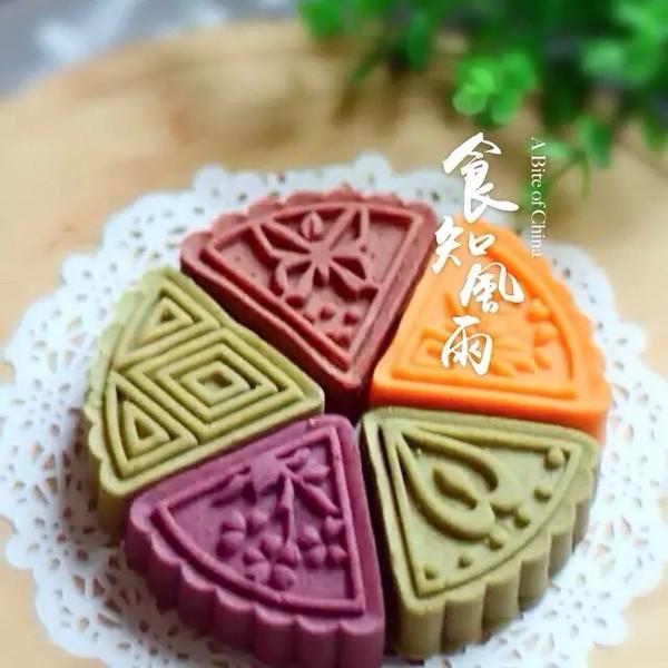 桃山皮月饼的做法_【图解】桃山皮月饼怎么做好吃_皮