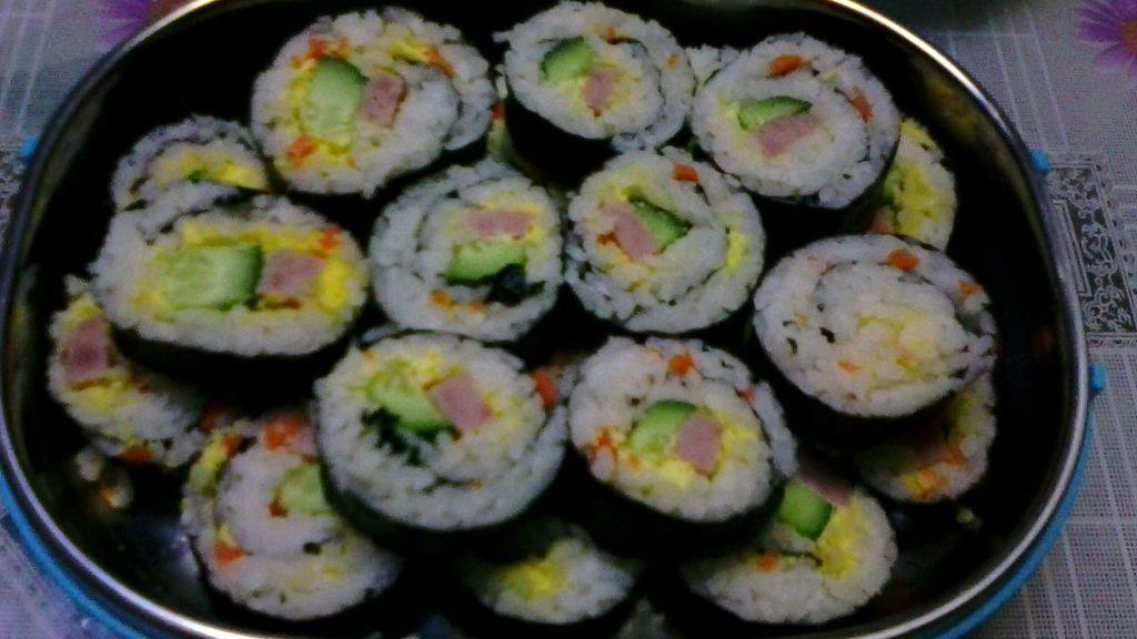 寿司的做法_【图解】寿司怎么做好吃_谚语7_家常做法