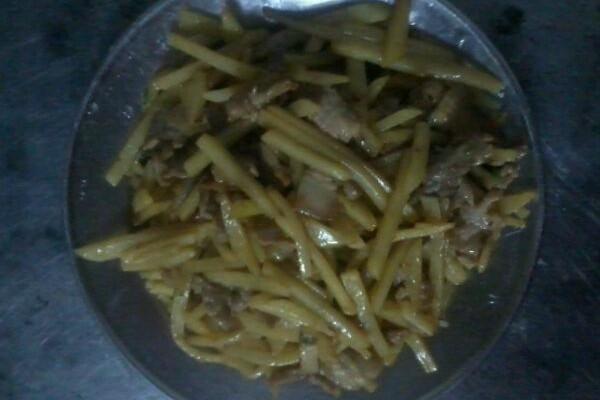 土豆炒肉的做法