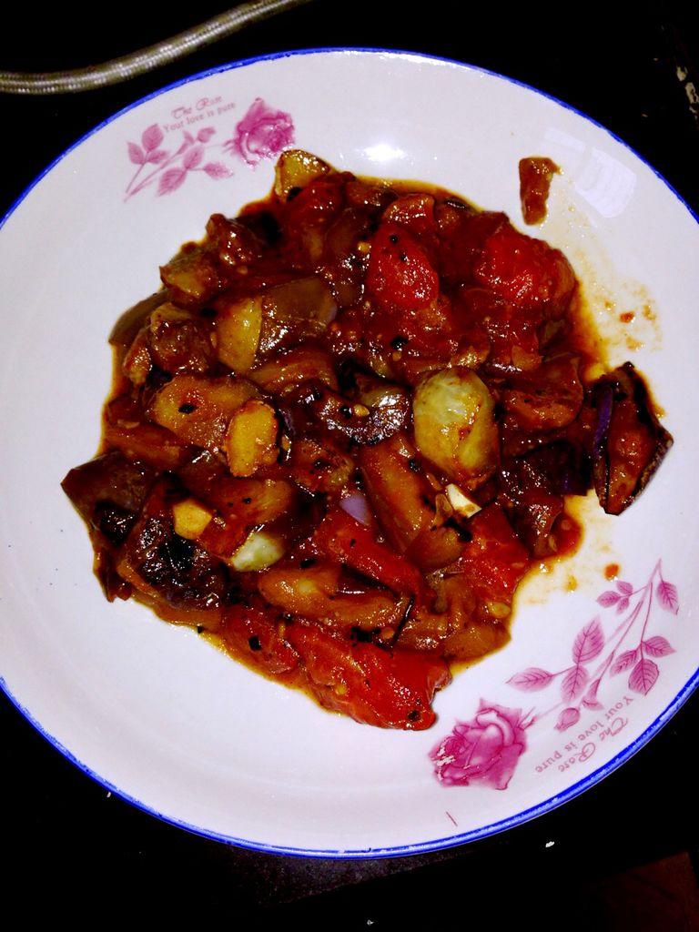 蒜香烧茄子的做法_【图解】蒜香烧茄子怎么做好吃_111