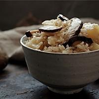 香菇土豆油饭