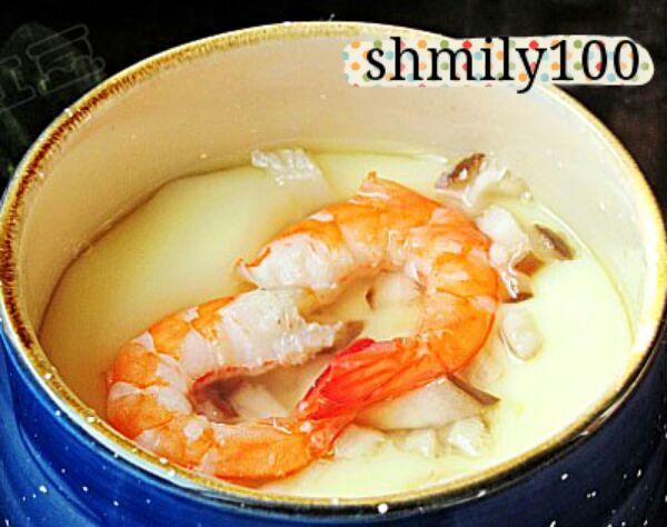 虾仁蒸蛋的做法_【图解】虾仁蒸蛋怎么做好吃_shmily