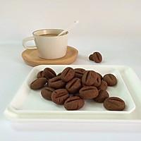 咖啡豆豆饼干#有颜值的实力派#