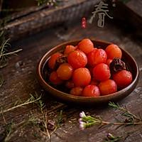 解腻小食—话梅渍小西红柿