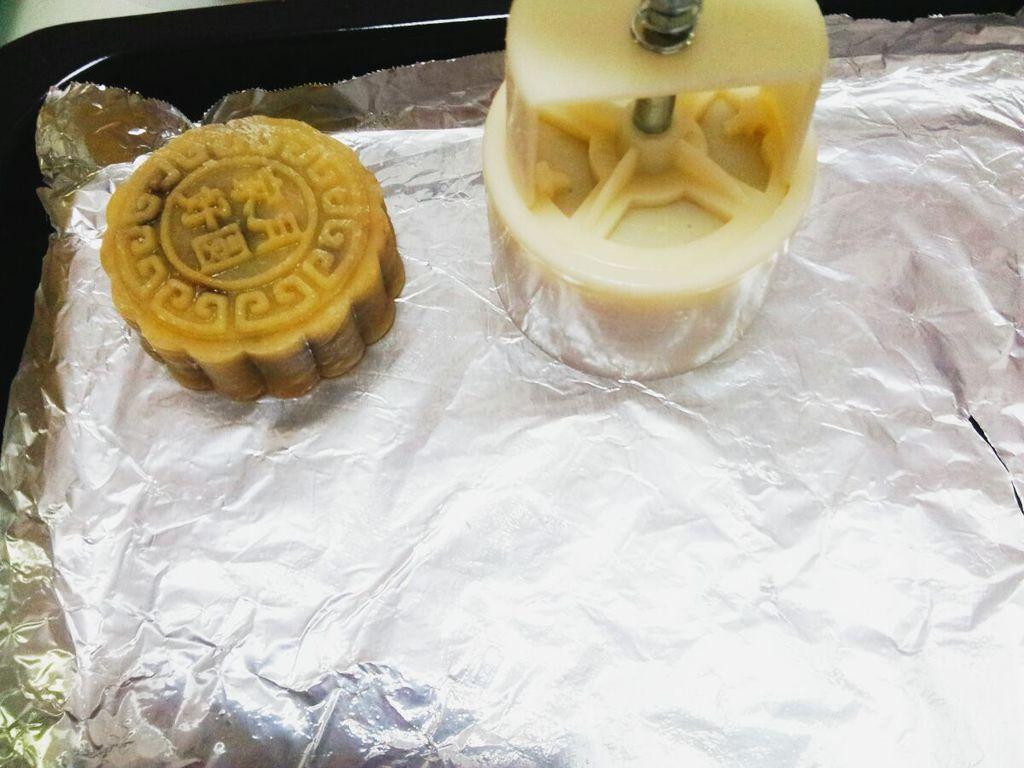 幼儿手工纸盘月饼
