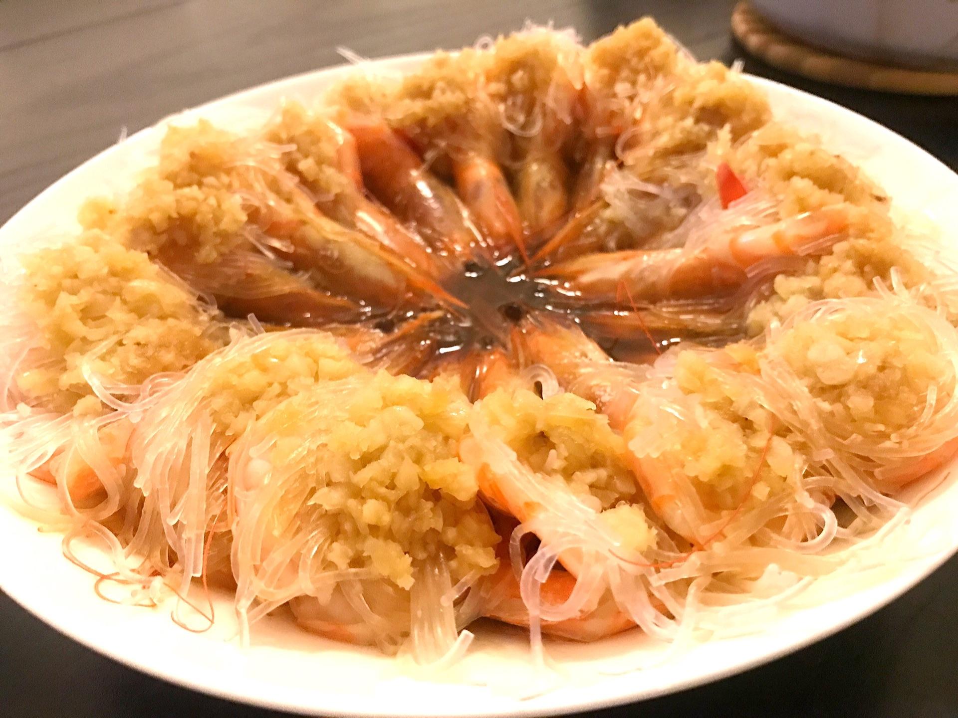 开边凤尾虾的做法图解6
