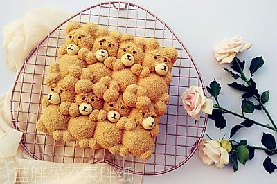萌你一脸的泰迪熊挤挤面包