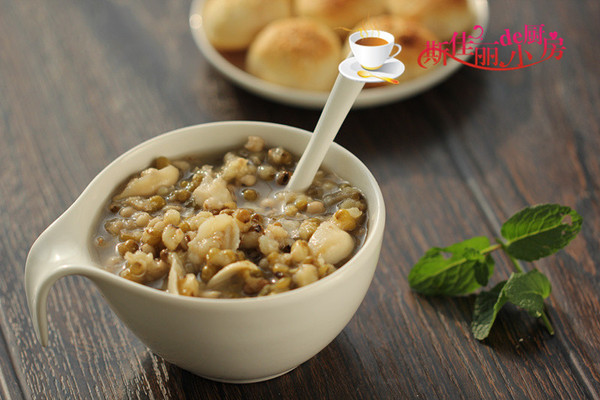 绿豆薏米百合羹的做法