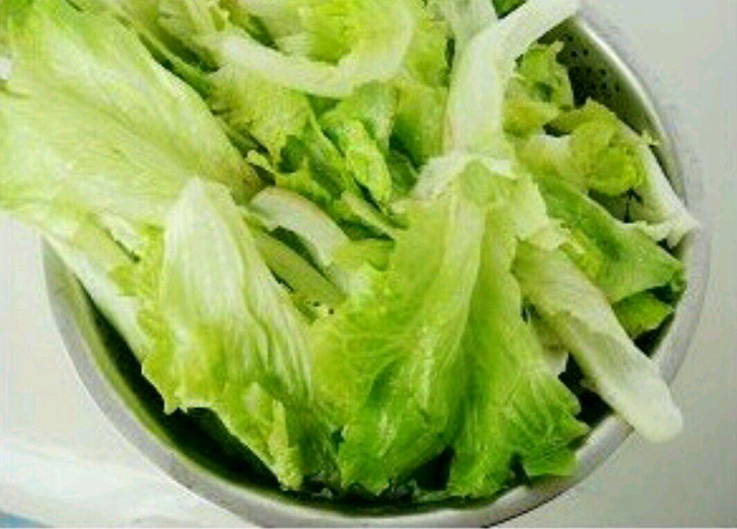 生菜的做法步骤 2.
