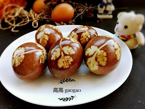 花样茶叶蛋