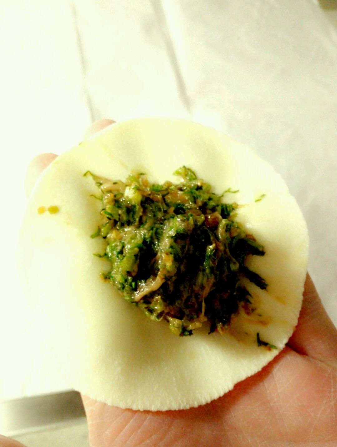 茴香猪肉馅饺子的做法图解25