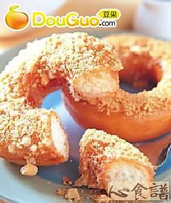 花生甜甜圈的做法