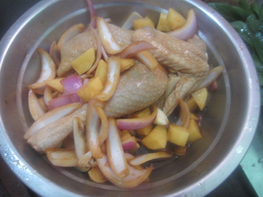 洋葱土豆烤鸡的做法图解5